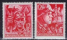 Deutsches Reich - Mi-Nr 909/910 Postfrisch / MNH ** (B1001) - Germany