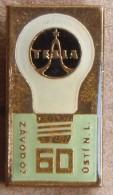 Nikola TESLA Company Czechoslovakia Electronic Industry Usti N.L. Pin Badge - Marques