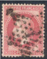 # France 36, Used, VF., Sound (fr036-8, Michel 31 [16-BD - 1863-1870 Napoleon III With Laurels
