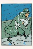 Carte Tintin Kuifje Tim HERGE N° 036 : L´étoile Mystérieuse - Comics