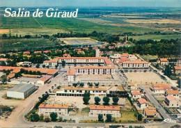 CPSM  -   Salin De Giraud  -  Vue Générale Aérienne  ,place Des Gardians                                 AG379 - Other Municipalities