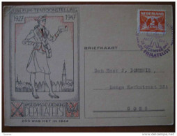 1947 Amsterdam Cartero Cartera Postman Postwoman Tarjeta Postal Post Card Holland Netherlands - Periode 1891-1948 (Wilhelmina)