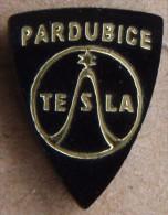 Nikola TESLA Company Czechoslovakia Electronic Industry Pardubice Pin Badge - Merken
