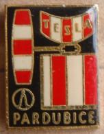 Nikola TESLA Company Czechoslovakia Electronic Industry Pardubice Pin Badge - Trademarks