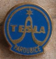 Nikola TESLA Company Czechoslovakia Electronic Industry Pardubice Pin Badge - Marcas Registradas