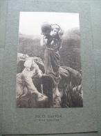 Jules Breton,à La Fontaine - Old Paper