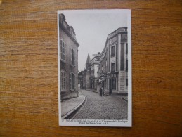 """Paray-le-monial , L'avenue De La Basilique , Hôtel Du Sacré-coeur """""""""""" Carte Animée """""""" - Paray Le Monial"""