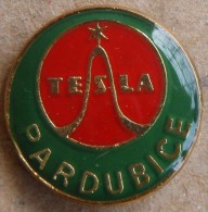 Nikola TESLA Company Czechoslovakia Electronic Industry Pardubice Pin Badge - Marques