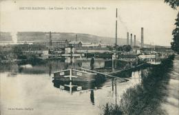 54 NEUVES MAISONS / Les Usines, Coin Du Port Et Les Aciéries / - Neuves Maisons