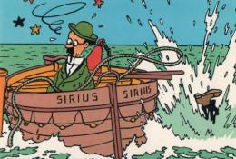Carte Tintin Kuifje Tim HERGE N° Q803 : Le Trésor De Rackham Le Rouge - Stripverhalen