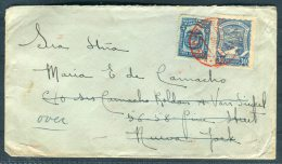 1924 Colombia SCADTA Airmail Cover - Wall Street, New York Redirected London - Colombia