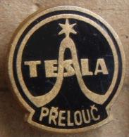 Nikola TESLA Company Czechoslovakia Electronic Industry Prelouc Pin Badge - Trademarks