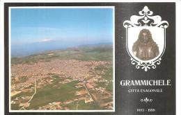 68 707)cartolina Maximum Comune Di Grammichele 18-4-88 - Cartoline Maximum