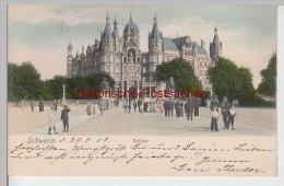(90423) AK Schwerin, Schloss, 1903