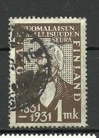 FINLAND FINNLAND 1931 Michel 162 O - Finland