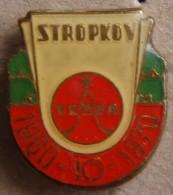 Nikola TESLA Company Czechoslovakia Electronic Industry Stropkov Pin Badge - Markennamen