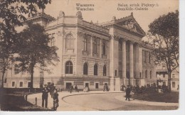 CPA Warszawa - Salon Sztuk Pieknych (avec Petite Animation) - Légende Bilingue - Polonia