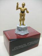 C3PO Figurine En Plomb STAR WARS Pièce De Jeu D´échecs ALTAYA :  Tour Blanche - Premiera Aparición (1977 – 1985)