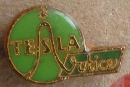 Nikola TESLA Company Czechoslovakia Electronic Industry Votice Pin Badge - Markennamen