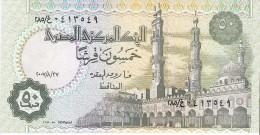 Egypt - Pick 62l - 50 Piastres 2007 - Unc - Egitto