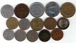 Lot de 12 anciennes monnaies d�Egypte (122)