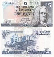 Scotland - 5 Pounds 1994 UNC Lemberg-Zp - [ 3] Scotland