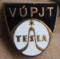 Nikola TESLA Company Czechoslovakia Electronic Industry VUPJT Pin Badge - Trademarks