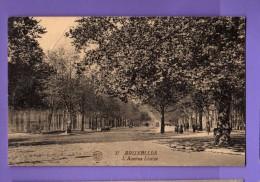 Belgio - Bruxelles - L'Avenue Louise.  Timbre. 25/08/1924 - Unclassified