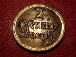 Danzig - 2 Pfennige 1926 8339 - Monnaies
