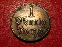 Danzig - Pfennig 1926 8349 - Monnaies