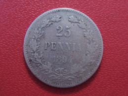 Finlande - 25 Pennia 1894 L 4091 - Finlande