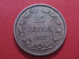 Finlande - 25 Pennia 1913 S 4095 - Finlande