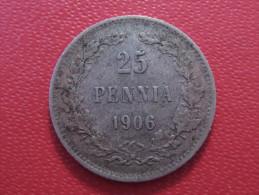 Finlande - 25 Pennia 1906 L 4017 - Finlande