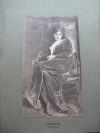 Jacquet ,rêverie - Old Paper