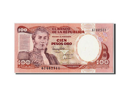 Colombie, 100 Pesos Oro, 1990, KM:426e, 1990-01-01, NEUF - Colombie