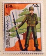 Lebanon  (o) - 1984 # 486 - Libanon