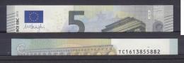 IRLANDA IRELAND 5 EURO 2013 DRAGHI SERIE TC 1613855882 T001I5 UNC FDS NEW BANKNOTE NUOVA BANCONOTA - EURO