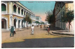 DJIBOUTI - LA RUE DU RAS MAKONNEN - Gibuti