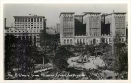 262363-California, Los Angeles, RPPC, Biltmore Hotel from Pershing Square, K.P. Photo No 71