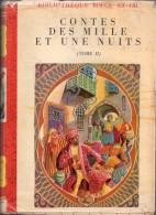 Les Contes Des Mille Et Une Nuits (illustrations :André Jourcin)- Rouge Et Or N°43 - Bibliothèque Rouge Et Or