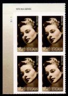 "USA, 2015 Scott #5012, Legends Of Hollywood, Ingrid Bergman, PB/Ul With ""19th In A Series"", MNH, VF - Ongebruikt"
