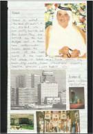 UAE Dubai Postcard Cutting Picture & Price Sticker Picture &  Picture Paper Cutting On Paper View U A E - Dubai