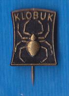 Slovenia Pin - Klobuki Pajk Ljubljana , Hats Pajk , Spider - Tiere