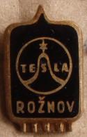 Nikola TESLA Company Czechoslovakia Electronic Industry Roznov Pin Badge - Marche