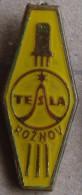 Nikola TESLA Company Czechoslovakia Electronic Industry Roznov Pin Badge - Markennamen