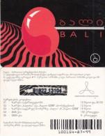 GEORGIA - Bali Promotion Prepaid Card, Used