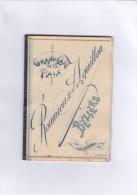 Petit Carnet  Avec Calendrier De 1896 à L´intérieur. -  Grand  Café  De  La  Paix.  Roumieux - Aguillon. BEZIERS (rare) - Petit Format : ...-1900