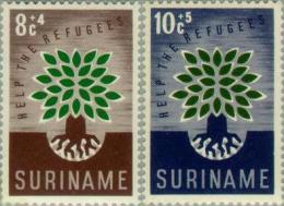 Suriname 1960 Vluchtelingenjaar - NVPH 345 Ongestempeld/MH/* - Suriname ... - 1975