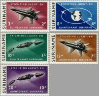 Suriname 1964 Stichting Lucht En Ruimtevaart -  NVPH 405 MNH** Postfris - Suriname ... - 1975