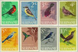 Suriname 1966 Vogels - Birds - NVPH 439 Hinged - Ongestempeld - Suriname ... - 1975
